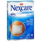 Nexcare Sensitive Skin Adhesive Pads, 3