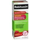 Robitussin Severe Multi-Symptom Cough Cold and Flu Medicine, 8oz