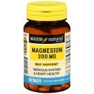 Mason Natural Magnesium 200 mg 100 Tablets