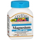 21st Century Magnesium 250mg 100ct Tablets