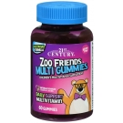 21st Century Zoo Friends Multi Gummies, Fruit, 60 ct