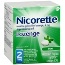 Nicorette Lozenge 2mg, Mint- 144ct