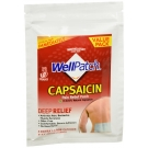 WellPatch Natural Capasaicin Multi-Count Patch, 4ct