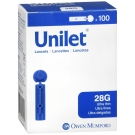 Unilet Lancets Ultra Thin 28G-100ct