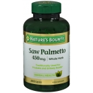 Nature's Bounty Saw Palmetto, 450mg, Capsules, 250ct