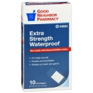 GNP First Aid Extra Strength Waterproof Bandage, 2