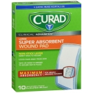 Curad Clinical Advances Ultrasorb, 4 in x 8 in, 10 ct