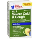 GNP Severe Cold and Cough Nighttime Honey Powder Packet 6ct