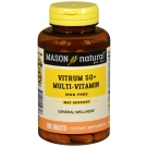 Mason Natural Vitrim 50 Plus Senior Multivitamin Supplement Formula 100 Tablets