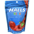 Halls Kids Cough Plus Sore Throat Pops 10 ct Cherry