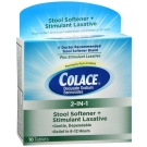 Colace 2-In-1 Tablets Stool Softener & Stimulant Laxative - 10ct