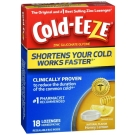 Cold-Eeze Cold Remedy Honey Lemon Lozenges - 18 ct