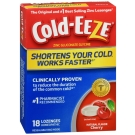 Cold-Eeze All Natural Lozenges, Cherry, 18 Ct