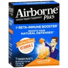 Airborne Plus Beta-Immune Booster Powder Packet-Zesty Orange 7ct