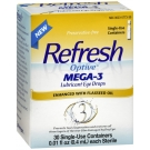 Refresh Optive Mega-3 Lubricant Eye Drops 30 ct