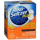 Alka Seltzer Plus Severe Cold & Flu Tablets 20ct