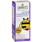 Zarbees Children's Cough Syrup + Immune Support, Natural Berry Flavor, 4 Fl Oz