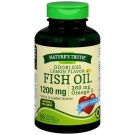 Natures Truth Odor Less 1200mg Fish Oil, Lemon, 90ct
