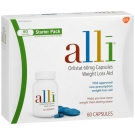 Alli Weight Loss Aid Starter Pack (60mg) - 60 Capsules