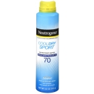 Neutrogena Cool Dry Sport Water-Resistant Sunscreen Spray - SPF 70 - 5oz