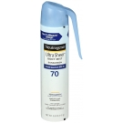 Neutrogena Ultra Sheer Lightweight Sunscreen Spray, SPF 70, 5oz