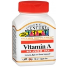 Vitamin A 3,000mcg (10,000 IU) 110 Softgels