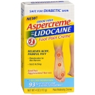 Aspercreme 4% Lidocaine Diabetic Foot Pain Creme, 4 oz