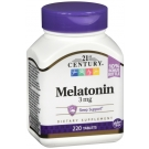 21st Century Melatonin 3mg Tablets, 220ct