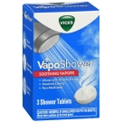 Vicks Vaposhower Aromatherapy Shower Tablet Bomb, 3 Ct.