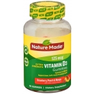 Nature Made Extra Strength Vitamin D3 5000 IU (125mcg) Adult Gummies Strawberry, Peach, Mango, 80ct