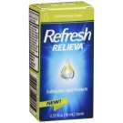 Refresh Relieva Lubricant Eye Drops 0.33 Oz