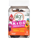 Align Kids Probiotic Supplement Gummies, Natural Fruit Flavors, 50 Ct