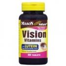 Mason Natural Vision Vitamins With Lutein Antioxidant Tablets - 60ct