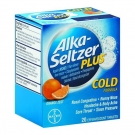 Alka-Seltzer Plus Cold Formula Orange Zest Effervescent Tablets 20ct