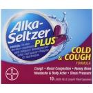 Alka-Seltzer Plus Cough & Cold Formula Liquid Gels- 10ct