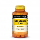 Mason Natural Melatonin, 3mg Tablets, 60ct