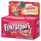 Flintstones Children's Multivitamin Plus Iron Chewable Tablets, 60ct