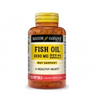 Mason Natural Fish Oil 1000 Mg Omega-3 Softgels - 120ct