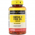Mason Natural Super Omega-3 Fish Oil 1000 mg Softgels 60ct