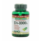 Nature's Bounty Vitamin D-3 1000 IU Softgels  - 350ct