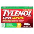 Tylenol Sinus Severe Congestion and Pain Caplets 24ct