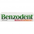 Benzodent Denture Pain Cream, 1 Oz