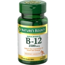 Nature's Bounty Vitamin B-12 2500mcg, 75 Quick Dissolve Tablets