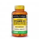 Mason Natural, Chewable Vitamin D 1000 IU, 50ct