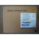 BD SafetyGlide Syringe 23 Gauge, 3cc, 1