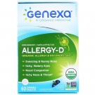 Genexa Homeopathic Allergy-D Chewable Tablets, 60ct