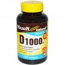 Mason Natural Vitamin D 1000 Iu Softgels 120ct