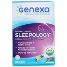 Genexa Sleepology Chewable Tablets, Vanilla Lavender Flavor, 60 Ct