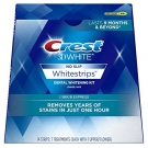 Crest 3D White Strips 1 hour Express 7 ct