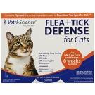 Flea & Tick Defense For Cats, 0.017 fl. oz (3 doses)